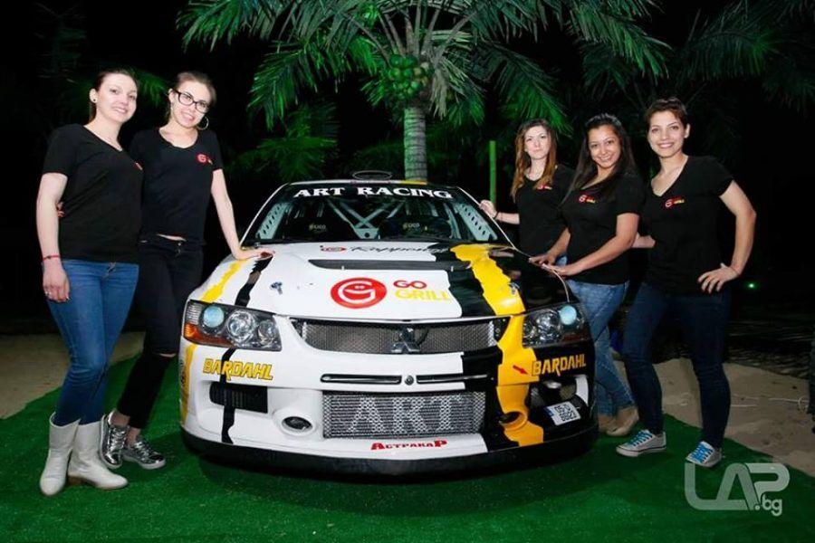 GO GRILL продължава традицията си да подкрепя българския автомобилен спорт